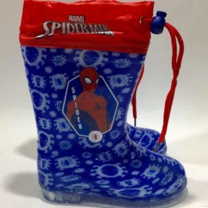 Botas de Agua Color Marino SpiderMan